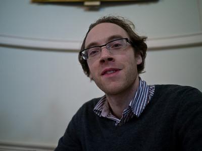 Close up of Dan