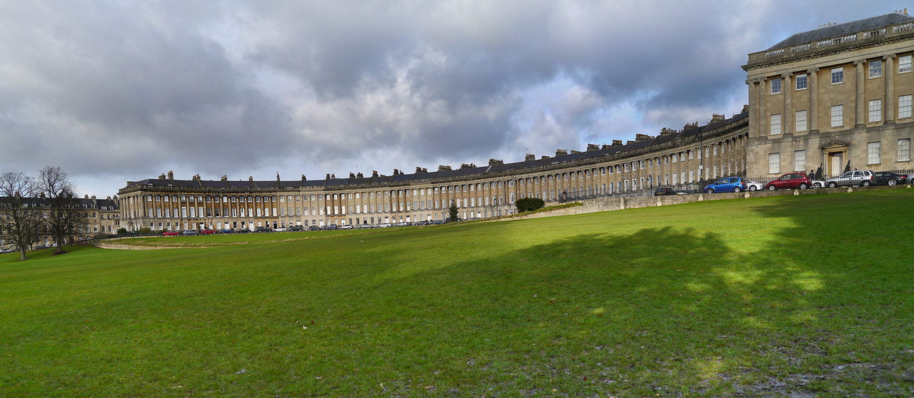 Panorama of the Royal Crescent