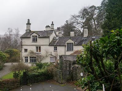 Rydal Mount - home of the poet William Wordsworth