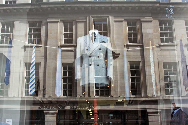 All British on Savile Row, Mayfair, London, England