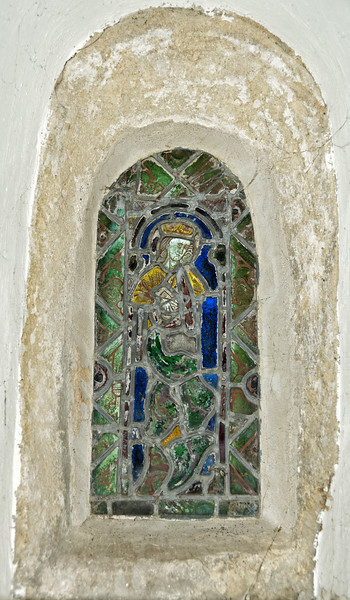 Window depicting St. Etheldreda, White Notley, England