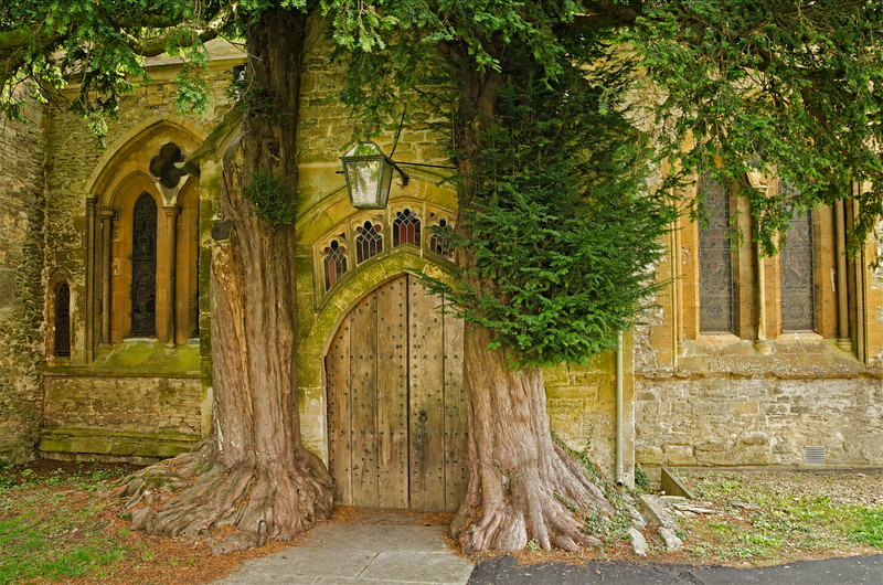 St. Edward's Church, Stow-on-the Wold, the Cotswolds, England