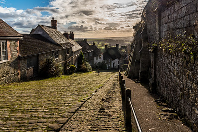 Gold Hill in Shaftesbury.