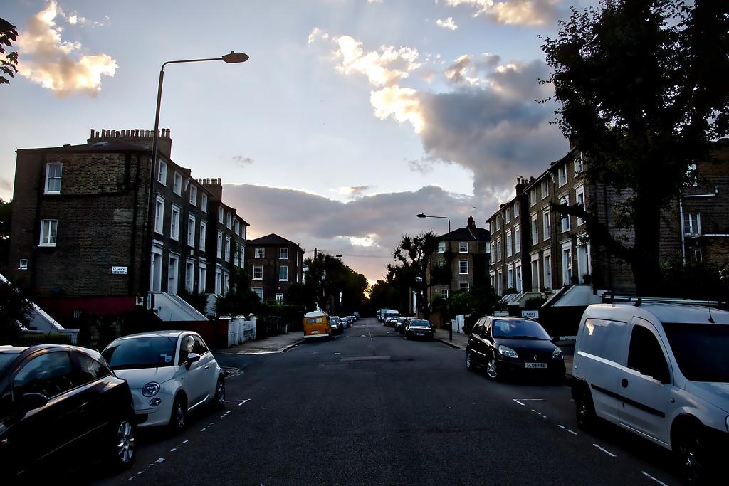 Summer Sunset over Camden