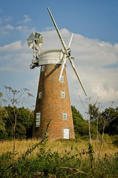 Windmill at Billingford near Diss, Norfolk, England