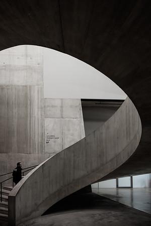 Spiral staircase at Tate Modern