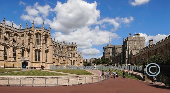 Enterance to Windsor Castle