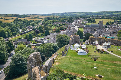 Corfe Castle, England, July 2016