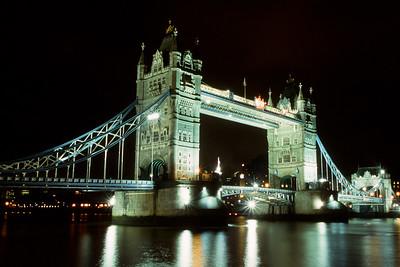Tower Bridge & The River Thames, London, England