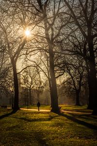A walk in Green Park.