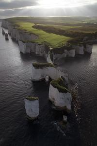 Old Harry Rocks Sunset