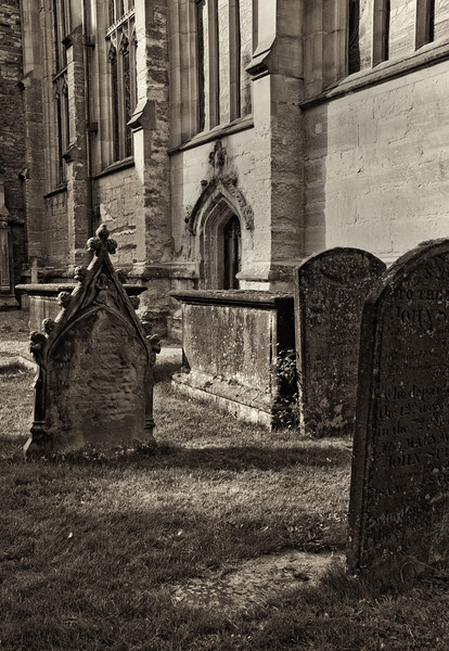 Churchyard in Stratford-on-Avon, England