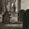Churchyard in Stratford-on-Avon, England