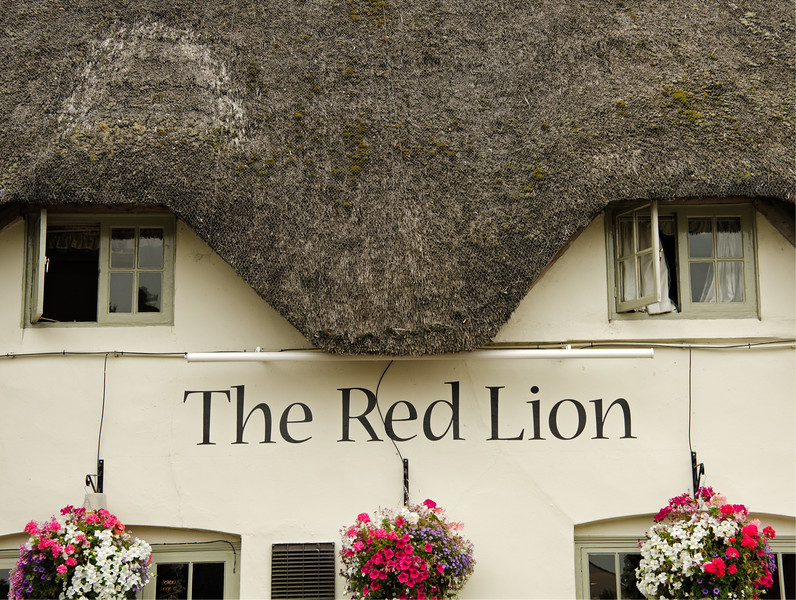 The Red Lion Inn, Avebury, England
