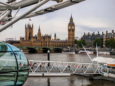 Palace of Westminster from the Eye