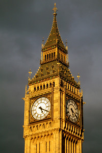 Elizabeth Tower & Big Ben, Houses of Parliament, Palace of Westminster, London, England