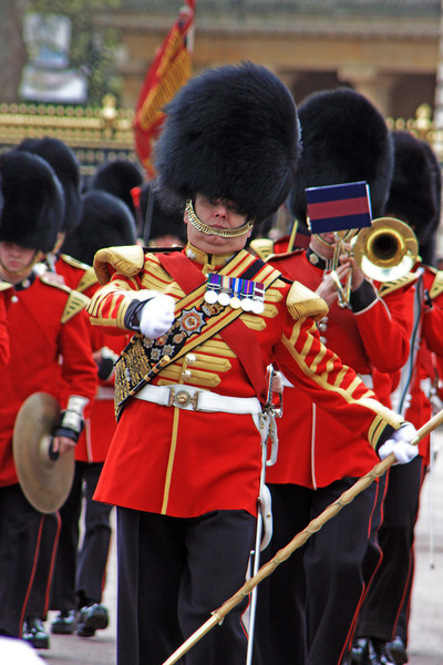 The Queen's Guard, Buckingham Palace, London, England
