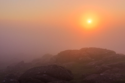 Sheeps Tor Sunrise I