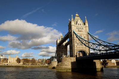 Tower Bridge, Her Majesty's Royal Palace and Fortress of the Tower of London, London, England