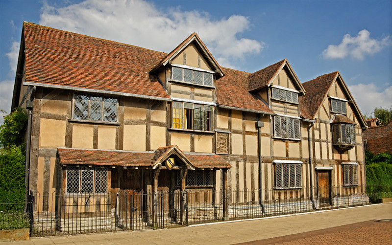 Shakespeare's birthplace, Stratford-on-Avon, England