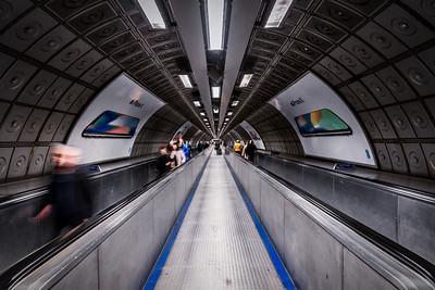 Subway Station in London.