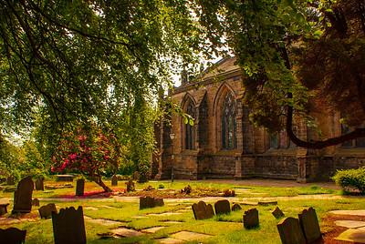 The Parish Church of St. Andrew, Biggleswade, England
