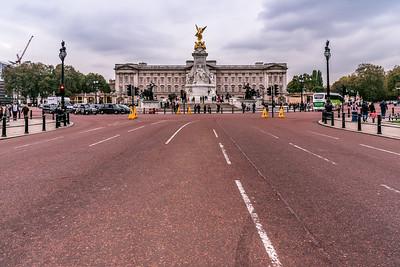 View of Buckingham Palace