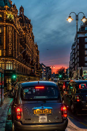 Harrods in London.