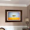 African Walnut frame