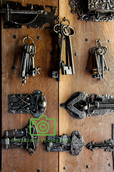 Antique Keys and Latches