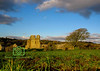 Ogmore Castle, Glamorgan, South Wales