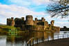 Caerphilly Castle, (Castell Caerffili), South Wales