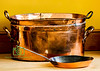 Edwardian Copper Pan