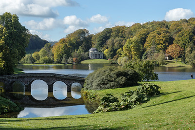 Stourhead in autumnal colours