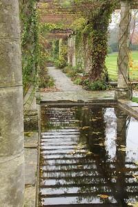 Autumnal pergola, West Dean Gardens