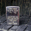 Finished engraving of the Viet Nam side of the lighter.