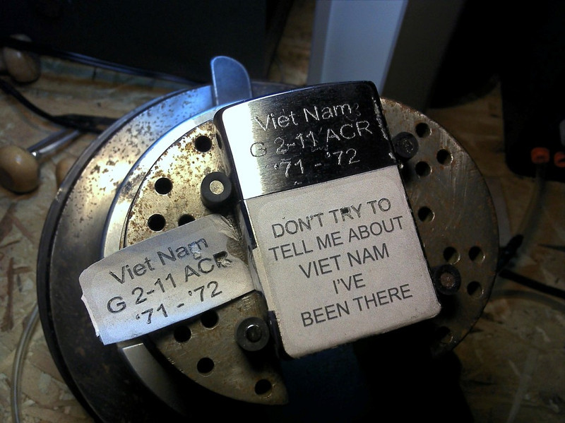 Partial pattern for the Viet Nam transferred to the lighter.