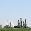 The KOCH Nitrogen Company, located south of 78th and E. Market, east of Enid produces several agricultural fertilizers, including anhydrous ammonia. (Staff Photo by BONNIE VCULEK)