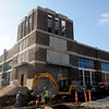The Enid Event Center construction continues Thursday, April 04, 2013. The new downtown facility is slated to open in May. (Staff Photo by BONNIE VCULEK)