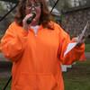 LaDona Hayes, with the Garber MS Walk Saturday, April 27, 2013. (Staff Photo by BONNIE VCULEK)