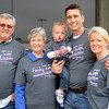 The March of Dimes Family Team (from left) include David and Sharon DePriest, their grandson Hudson DePriest, the March of Dimes ambassador for Marching for Babies, and his parents, Dr. Kirk Depriest and Barbara DePriest. (Staff Photo by BONNIE VCULEK)