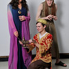 Kuyler Winbolt, Aladdin, Suzanna Davidson, Princess and Daniel Johnson, Evil Magician. (Staff Photo by BILLY HEFTON)