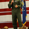 Col. Darren James, Commander of the 71st Flying Training Wing, announces that Team Vance excelled during the Consolidated Unit Inspection (CUI) and Logistics Compliance Assessment Program (LCAP). Col. James and the senior leadership of the 71st Flying Training Wing is extremely proud of the collective effort put forth by the entire team. (Staff Photo by BONNIE VCULEK)