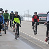 Members of the Vance Air Force Base bicycle club ride travel U.S. 81 as they return to the base after riding to Little Bit of Seattle in Waukomis and back Saturday, April 13, 2013. The trip was their first ride together. (Staff Photo by BONNIE VCULEK)