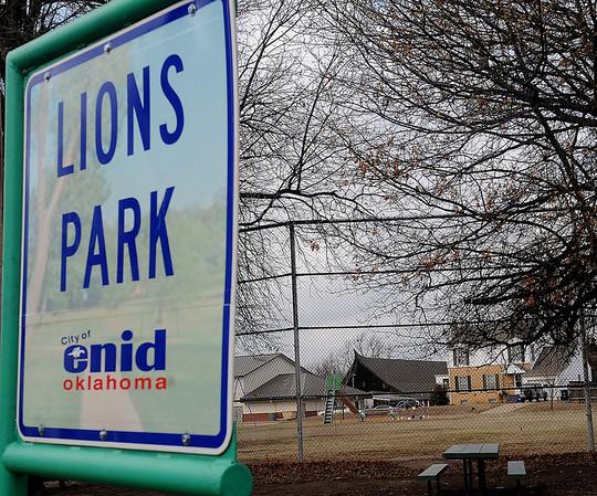 Lions Park (Staff Photo by BONNIE VCULEK)