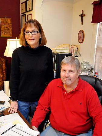 Scott and Sally Krevelen of Steeping Stones. (Staff Photo by BILLY HEFTON)