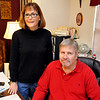 Scott and Sally Krevelen of Steeping Stones. (Staff Photo by BILLY HEFTON)