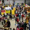 Shoppers enjoy the Enid Home Show at the Chisholm Trail Expo Center Saturday, April 27, 2013. (Staff Photo by BONNIE VCULEK)