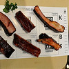 A plate ready for judging Saturday during the Red Dirt Barbeque contest. (Staff Photo by BILLY HEFTON)