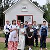 Fourth-grade students from St. Joseph Catholic School attend Turkey Creek School Tuesday, April 14, 2015. (Staff Photo by BONNIE VCULEK)